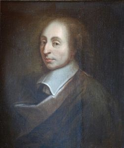 """Blaise Pascal Versailles"" by unknown; a copy of the painture of François II Quesnel, which was made for Gérard Edelinck en 1691. - Own work. Licensed under Creative Commons Attribution 3.0 via Wikimedia Commons - http://commons.wikimedia.org/wiki/File:Blaise_Pascal_Versailles.JPG#mediaviewer/File:Blaise_Pascal_Versailles.JPG"