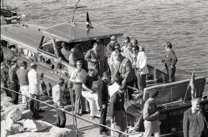 Harrah used the yacht to entertain. TLPS Archives.
